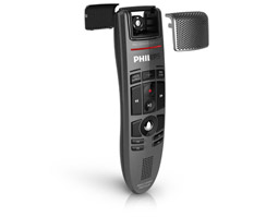 Prevent operating and background noise wiht the Philips SpeechMike